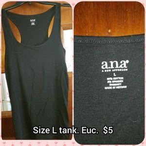 A.n.a size L ribbed tank